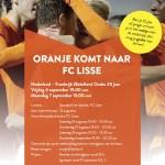 Belofteninterland Oranje op Ter Specke in Lisse