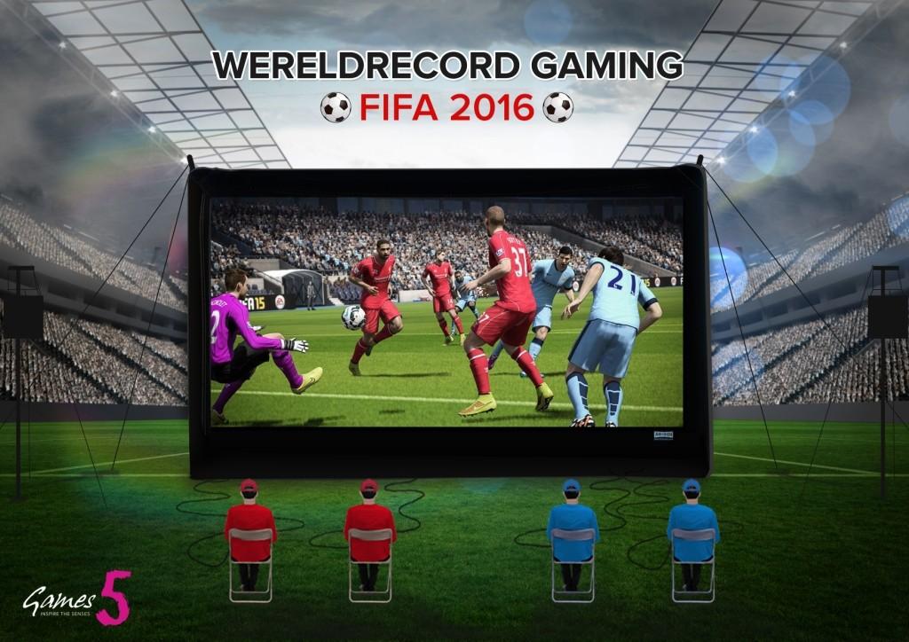 Wereldrecord toernooi Games5