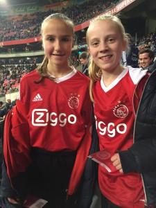 Uiteraard werd ook de wedstrijd AJAX - Vitesse bekeken