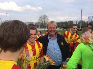 Trotse hoofdtrainer Berry van Neyhof