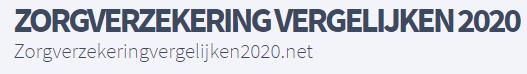Zorgverzekering 2020 vergelijken